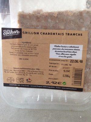 Grillon charentais tranché - Product - fr