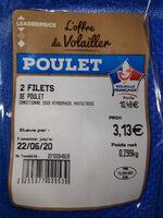 2 filets de poulet - Prodotto - fr