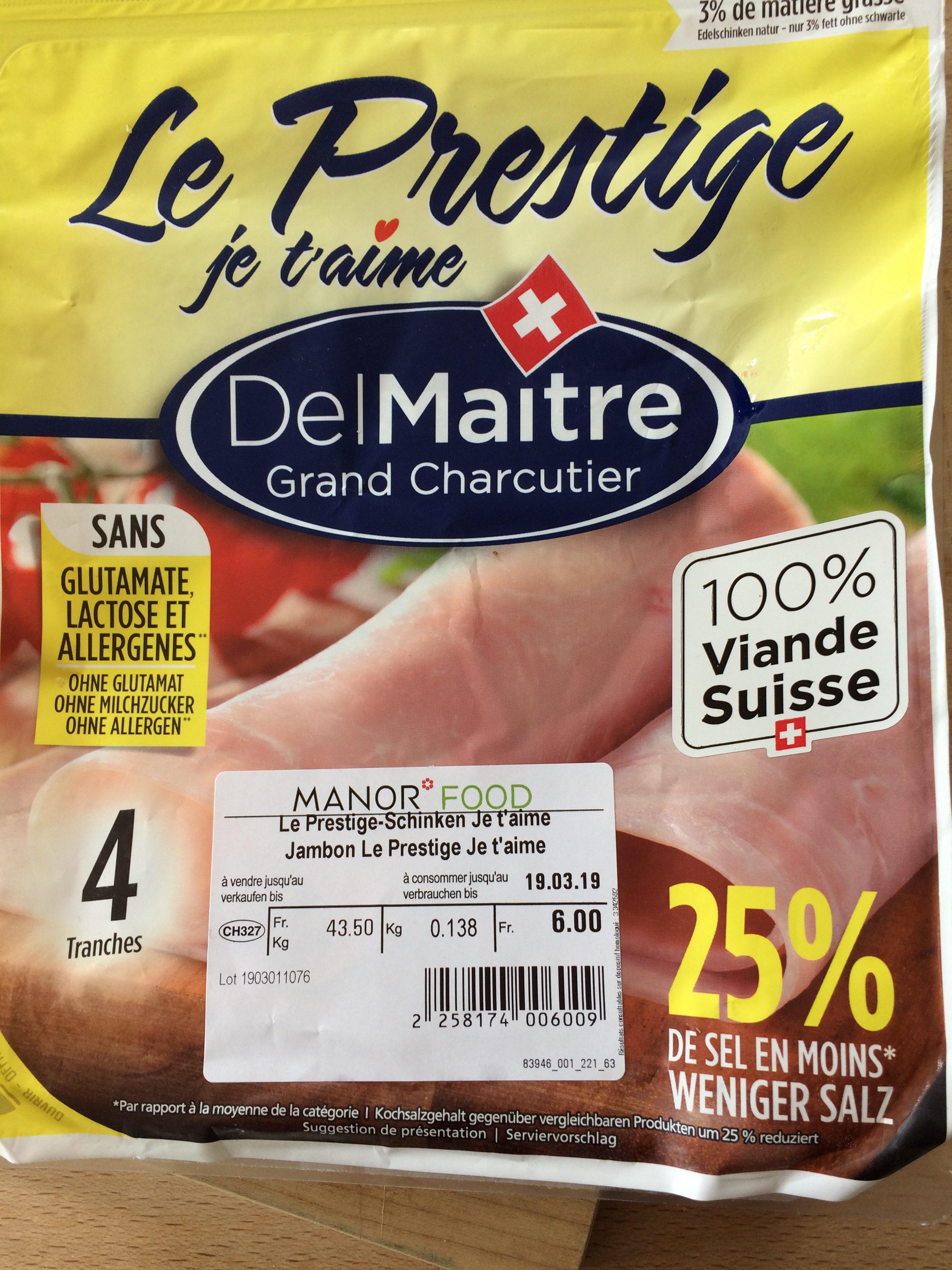 Prestigedel Maître - Prodotto - fr