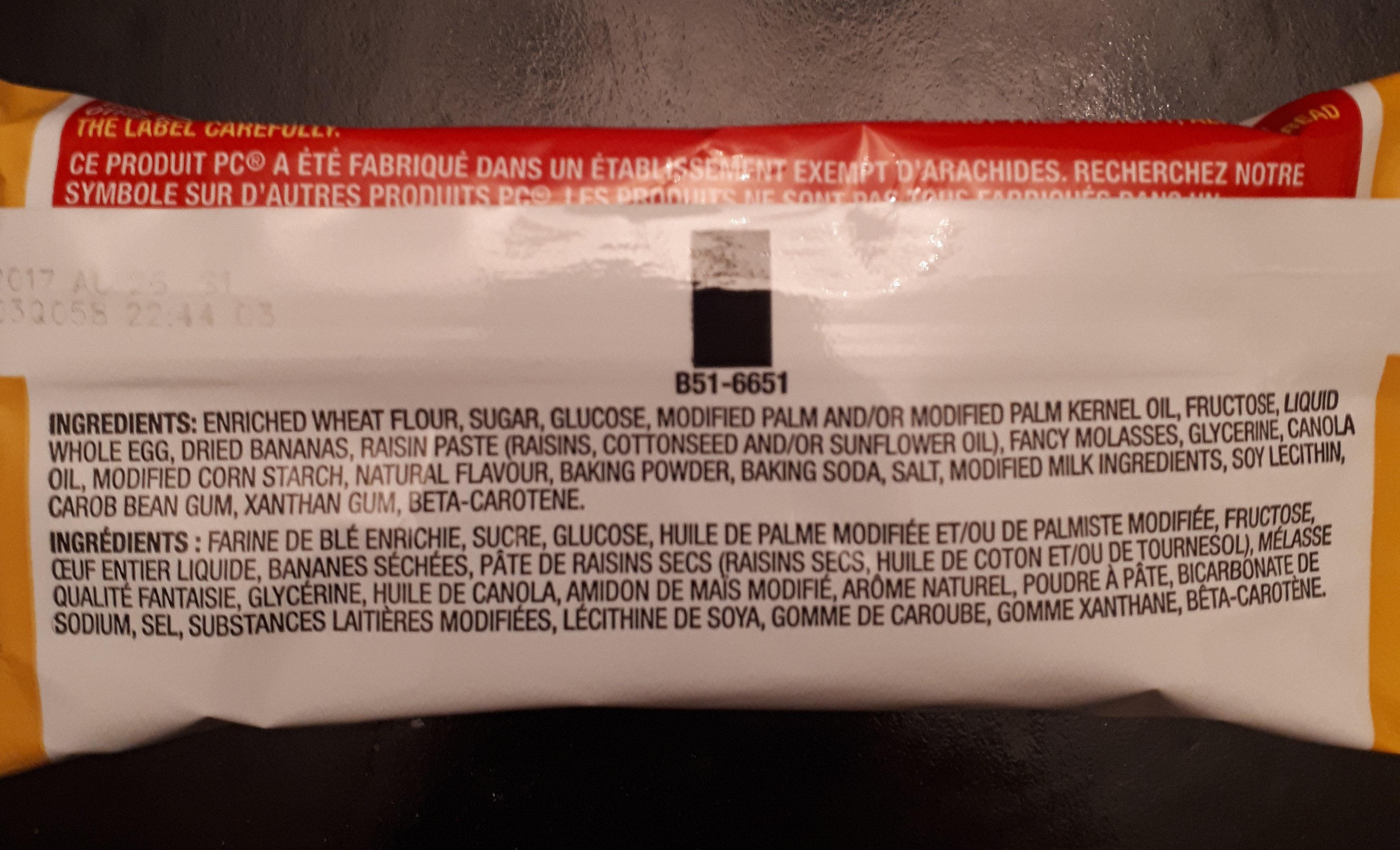 pain au banane - Ingredients