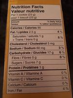 pain au banane - Nutrition facts