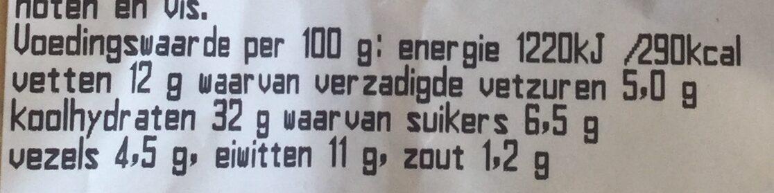Geitenkaas - Nutrition facts - nl