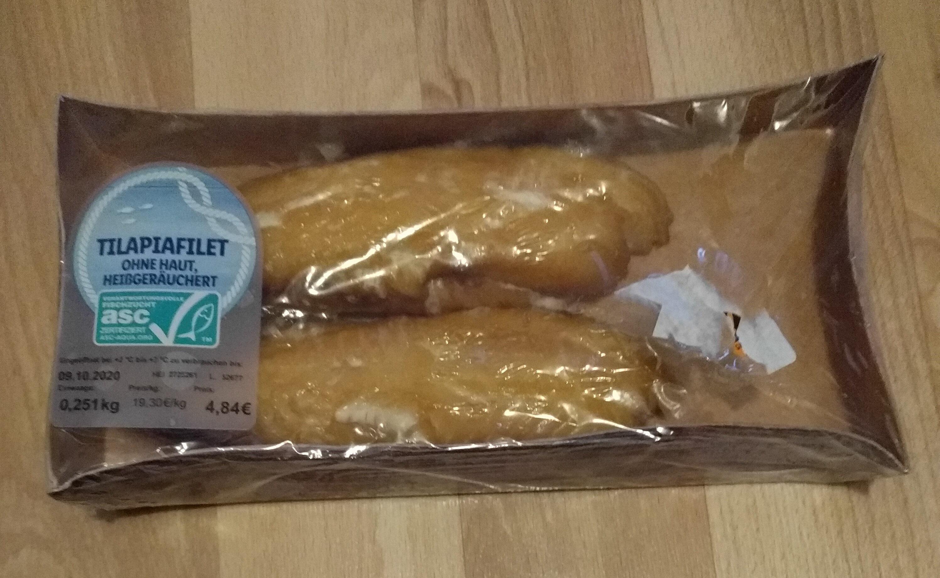 Tilapiafilet ohne Haut, heissgeräuchet - Product - de