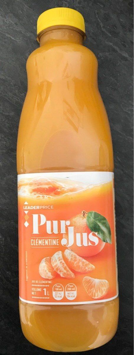 Pur jus Clémentine - Prodotto - fr
