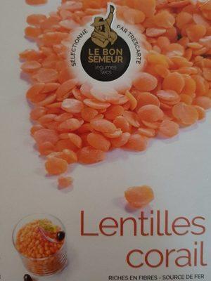 Lentilles corail - Produit