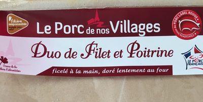 Duo de filet et poitrine - Product - fr