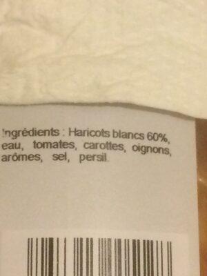 Mogettes - Ingrediënten