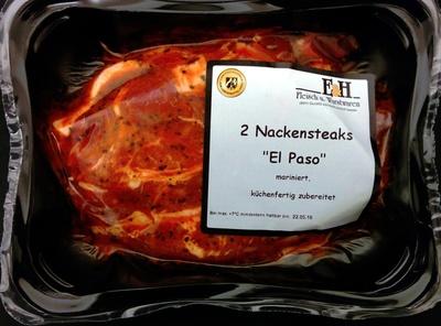 "2 Nackensteaks ""El Paso"" - Product"