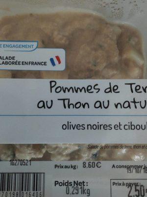 Pommes de terre au thon au naturel - Product