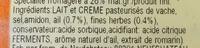 Roulé Ail et Fines herbes (28% MG) - Ingredients - fr