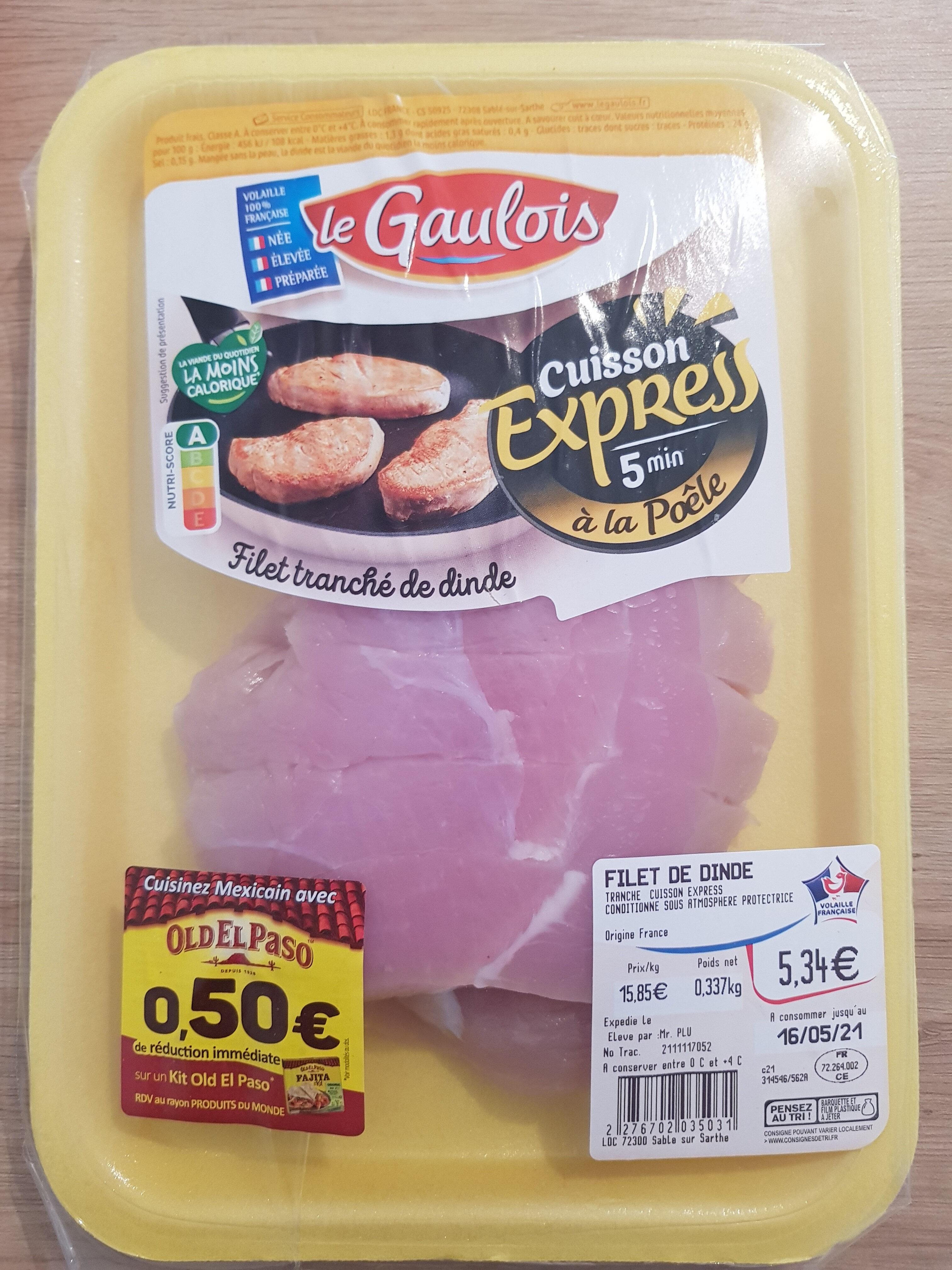 Filet tranché de dinde - Prodotto - fr