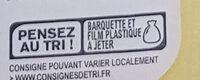 Filet tranché de dinde - Istruzioni per il riciclaggio e/o informazioni sull'imballaggio - fr