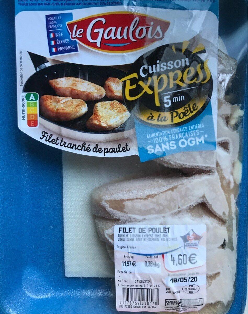 Filet tranché de poulet - Prodotto - fr