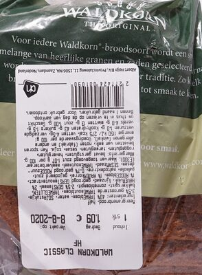 Meergranenbrood, half - Product - nl
