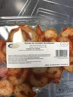 Queues de crevettes - Ingrediënten
