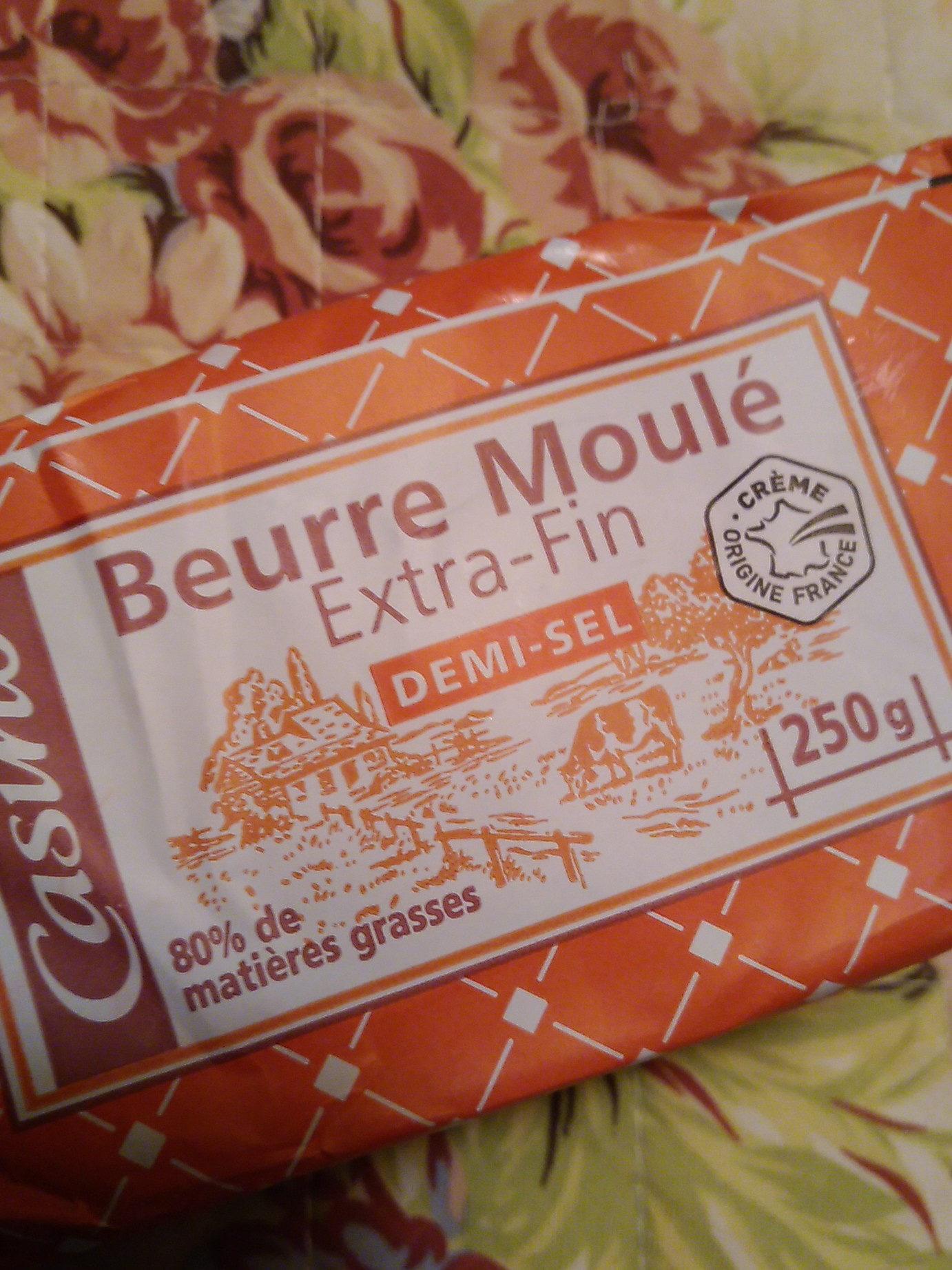 beurre salé  moulé Extra fin - Product - fr