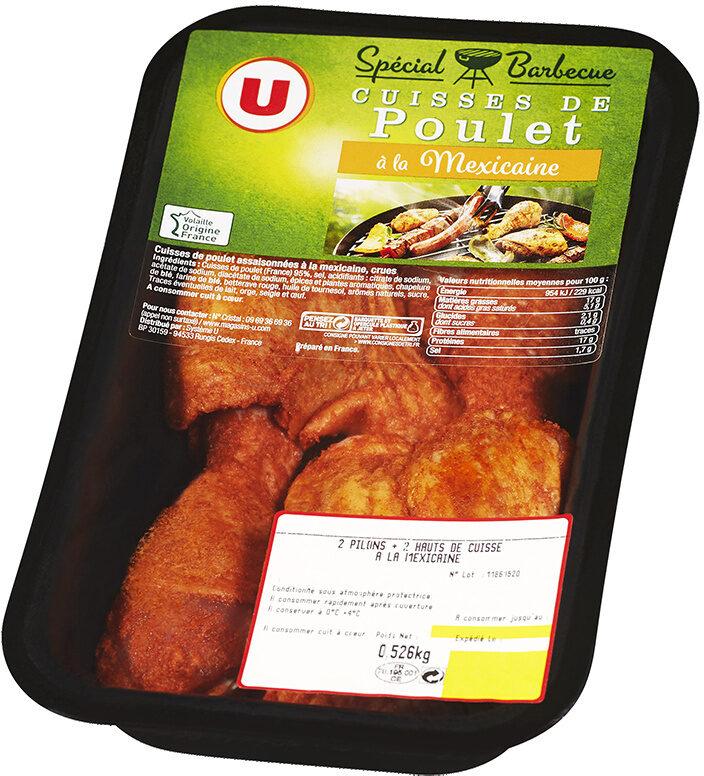 Cuisse de poulet marinée à la Mexicaine - Produit - fr