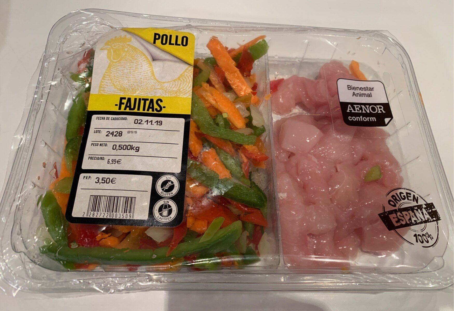 Pollo fajitas - Product - es