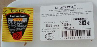 gros pâté - Produit
