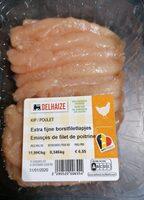 Émincés de filet de poitrine de poulet - Product - fr