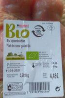 Fillet de cuisse poulet bio - Produit - fr