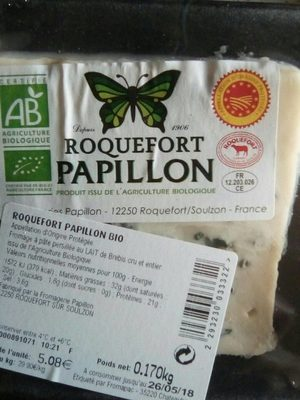 Roquefort papillon - Produit