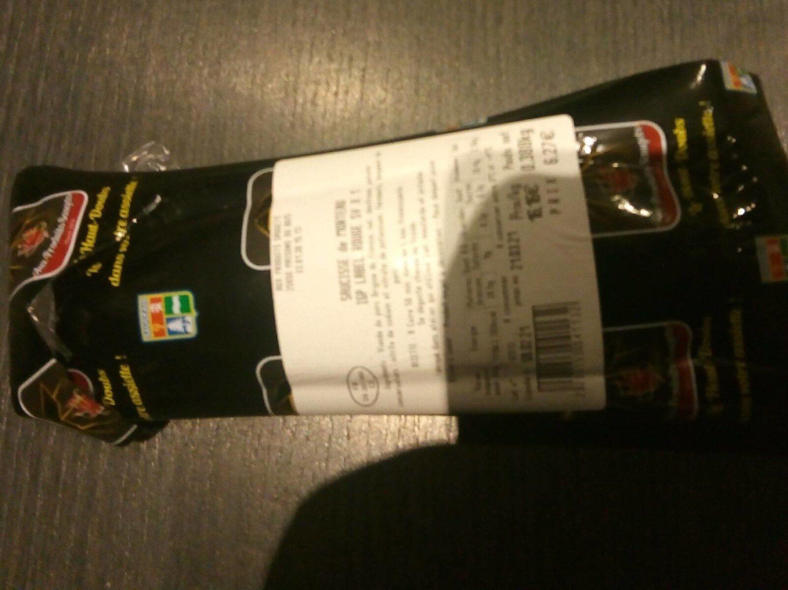Saucisse de Morteau IGP label rouge SV x 1 - Prodotto - fr