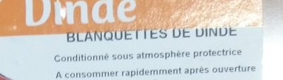 Blanquettes de Dinde - Ingredients