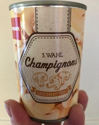Champignons 3. Wahl Geschnitten (penny) - Product