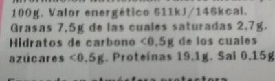 Secreto - Ingredients