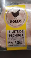 Filetes de pollo - Produit - es