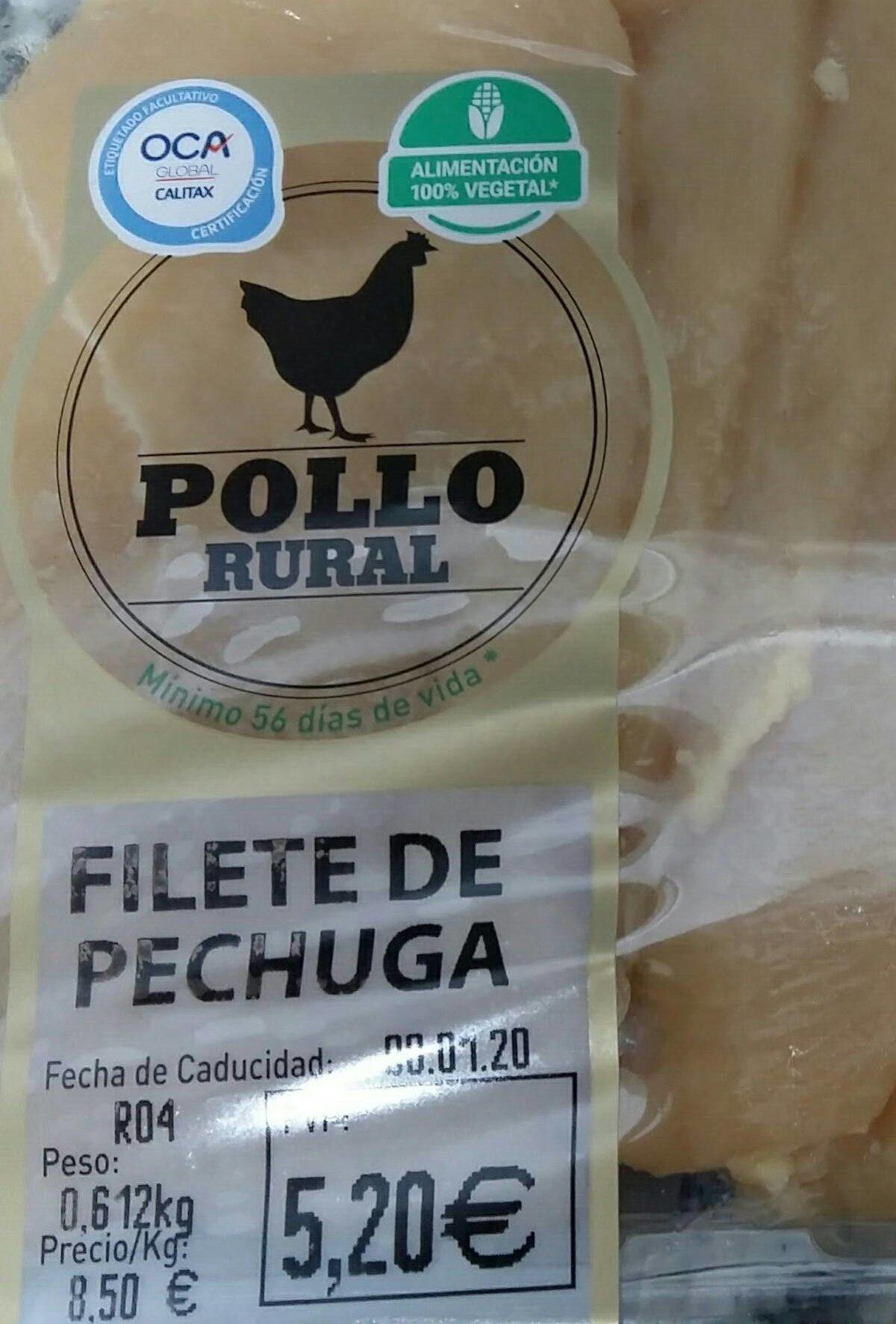 Filetes pechuga pollo rural - Product - es