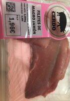 Filetes de magro jamón - Product - es