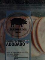 Fiambre Magro Adobado - Product - es