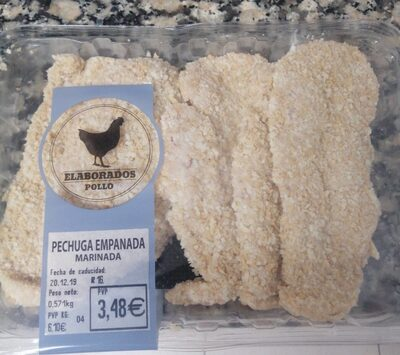 Pechuga empanada marinada - Product