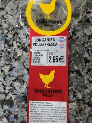 Longaniza pollo fresca - Producto - es