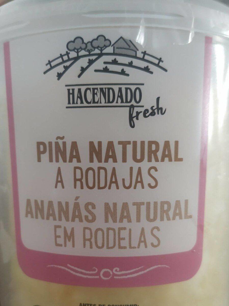 Piña natural a rodajas - Product - es