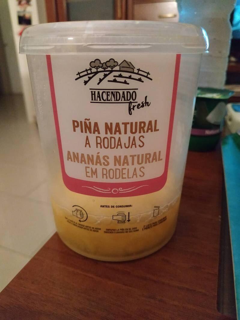 Piña natural a rodajas - Produit - es