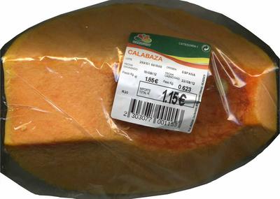 "Calabaza ""Ramafrut"" - Producto"