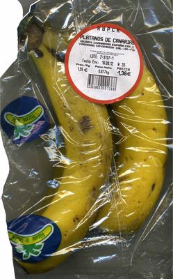 "Plátanos ""Reybanpack"" - Product"