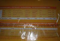 Kiwi Amarillo - Nutrition facts - es