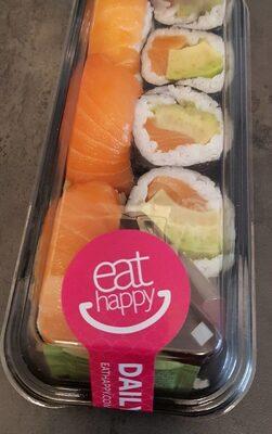 Sushi mit Lachs - Produit - de