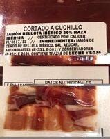 Jamón de bellota ibérico - Ingredients - es