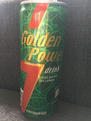 Golden Power Energie Drink - 1