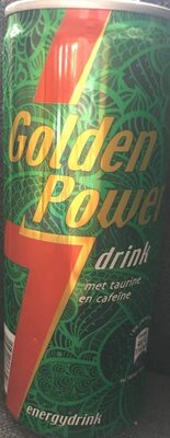 Golden Power Energie Drink - Product - nl