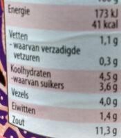 Sambal Oelek - Voedingswaarden - nl