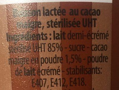 Milkshake - Ingredients