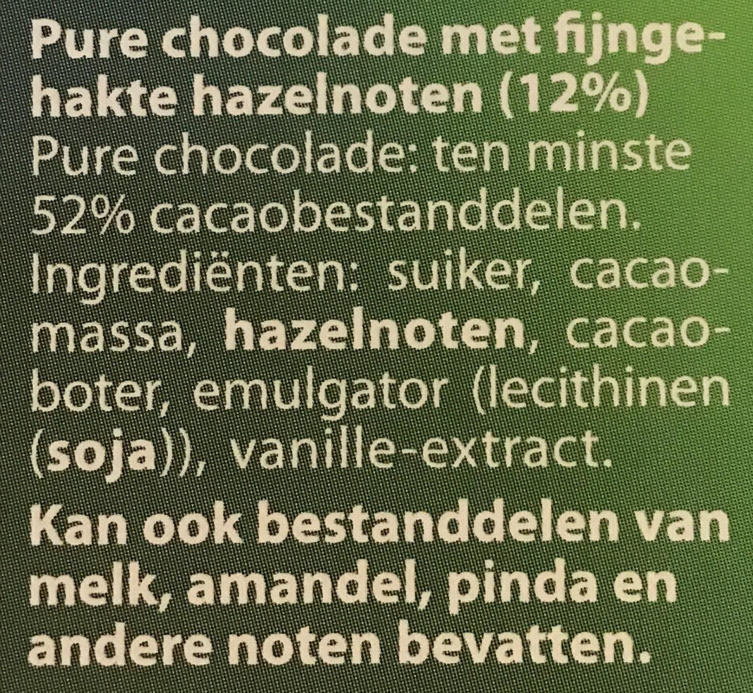 Puur Geroosterde Hazelnoot - Ingrediënten - nl