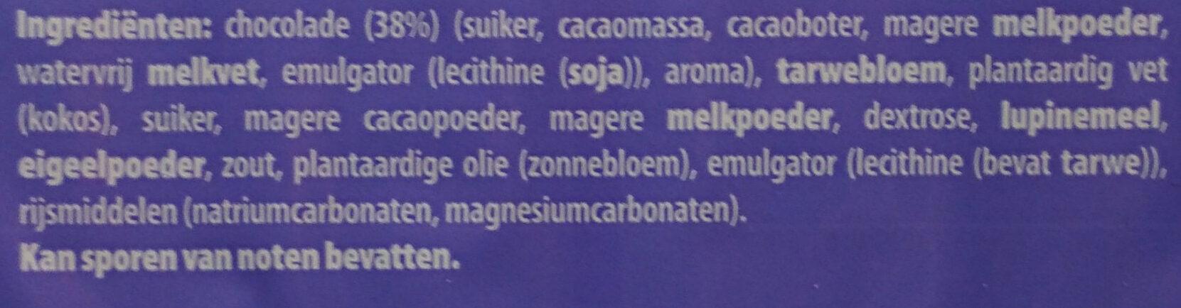 Choco Wafel Sticks - Ingrediënten - nl