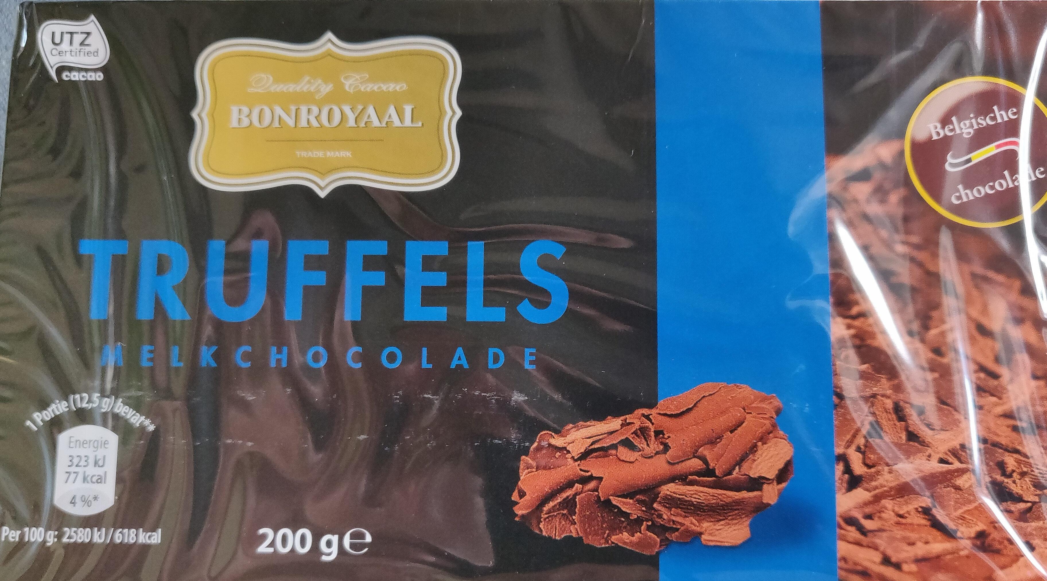 Truffels melkchocolade - Product - nl
